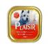 Пастет Plaisir за кучета над 1 година - различни вкусове, 300 гр.