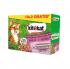 Kitekat Pouch Mix Menu in Jelly Смесено меню в желе за котки в зряла възраст - опаковка от 12 пауча x 100 g