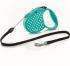 Автоматичен повод за куче Flexi Standard Dots S - 5м въже, до 12кг - различни цветове