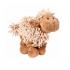 Играчка за куче - плюшена овца със звук и еластични крака - 21 см