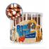 Лакомство за кучета Bow Wow Tubitos - с пушено месо и суроватка