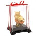 Луксозна статуетка Златен бухал, 17 см.