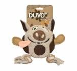 Играчка за куче Dogtoy canvas 'Plush cow', 30x24x10cm