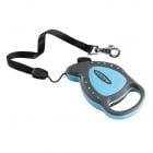 Автоматичен повод за кучета FLIPPY DELUXE CORD MINI - 3м/въже/ до 8кг - различни цветове