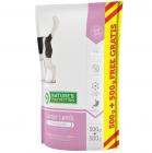 nature's protection Junior Lamb- Селектирана формула с вкусно агнешко за подрастващи кучета от всички породи- 0,500гр+500гр