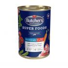 Пастет за куче Butchers Super Foods Chicken & Tripe - пилешко месо и шкембе -400гр
