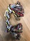 Играчка за куче въже с 2 възела  - 55см