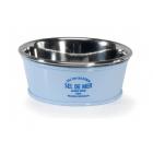 Стоманена купа с железен капак за храна и вода на куче и коте COUNTRY - три размера