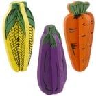 Ferplast дървена играчка за гризачи, зеленчуции цветни,1бр. 4 x 4 x h 8 cm