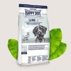 Happy Dog Sano N -Диетична храна за кучета с хронични заболявания на бъбреците, черния дроб и сърцето - две разфасовки