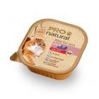 Пастет за кастрирани котки Pro natural 100гр - два вкуса