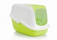 Закрита котешка тоалетна с филтър Nestor в 2 цвята