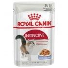 Royal Canin Instinctive храна за израснали котки, сочни хапки в апетитен сос 85гр
