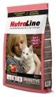 """""""Nutraline Cat SENSITIVE"""" - Храна за котки с чувствителна храносмилателна система"""