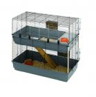 Двуетажна клетка за зайци 118 x 58 x h 102 cm CAGE RABBIT 120 DOUBLE