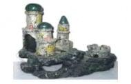 Замък със сини кули
