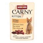 Пауч за котка Animonda Carny Kitten за малки, различни видове, 85 гр