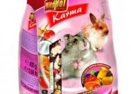 Храна с плодове за хамстери и зайчета