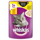 Whiskas Pouch Creamy Soups - Пауч в крем супа за котки над 12 месеца, различни вкусове, 85 гр.