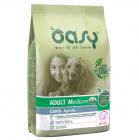 Храна за кучета Oasy Adult Medium Lamb с агнешко за средни породи над 12 месеца, 12кг