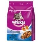 Whiskas - гранула с фин пълнеж, с невероятен вкус на риба, специално за израснали котки - 0.300кг; 1.400кг; 14.00кг