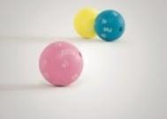 Твърди вибриращи топки в различни цветове