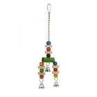 Играчка за папагал със звънчета - 9x33.5см.