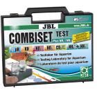 JBL Test Combi Set + NH4 - мини куфарче с 5 теста за основните показатели на водата - pH (3-10), KH, No2, No3, NH4/NH3 и таблица за изчисляване на стойностите на СО2