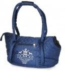 Чанта DELUXE -  Синя MD 42x26x26,5 см.