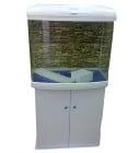 Sobo AA 601T - аквариум с капак, енерго спестяващо осветление и дънен филтър
