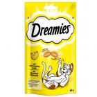 Dreamies - вкусно хрупкаво лакомство за котки с апетитен пълнеж - различни вкусове
