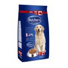 Суха храна за кучета BUTCHER'S - различни вкусове, 10 кг.