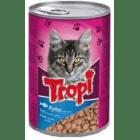 Tropi - Консерва за котки - различни вкусове