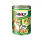 Kitekat Can in Gravy Adult месо в сос грейви за котки в зряла възраст - различни вкусове