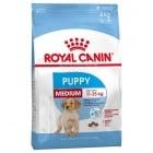 Royal Canin medium puppy - Пълноценна храна за кученца от средните породи (тегло в зряла възраст от 11 до 25 кг) - До 12 месечна възраст