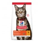 Hill's Science Plan Adult с пиле - Холистична суха храна за добре балансирано хранене на пораснали котки (над 1 година) - три разфасовки
