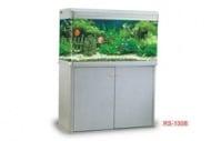 RS 100A - аквариум с капак, осветление и дънен филтър