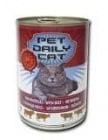 Pet Daily Cat месни хапки за коте 415гр - различни вкусове
