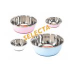 Стоманени купички с неплъзгаща гума и звукоизолация на дъното SELECTA - различни размери