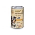 Пастет за куче Pro natural 420гр - два вкуса