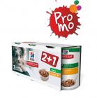 Промоционален комплект консерви за кученца до 1 година Hill`s Science Plan Puppy 2 +1 с пилешко 3х370g куче