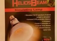 REPTILEPRO HeliosBeam - Осветление нагряващо  125W; 160W