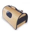 """""""Camon"""" - Кожена транспортна чанта за кучета и котки"""