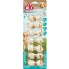 Лакомство за кучета - Кокали с пилешко месо, специална дентална грижа - XS 7бр