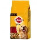 Храна за кучета Pedigree Adult с говеждо и зеленчуци за пораснали кучета - три разфасовки