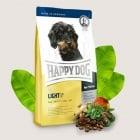 Happy Dog Mini Light - Храна за кучета с намалено количество мазнини 6,5% - две разфасовки