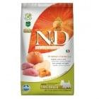 N&D ADULT MINI PUMPKIN - Пълноценна храна за кучета от дребни породи с тиква, с глиганско и ябълка