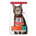 Hill's Science Plan Adult с риба тон - Балансирана, лесносмилаема суха храна за пораснали котки - три разфасовки