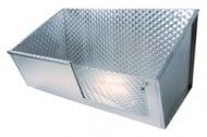 Вана за груминг от неръждаема стомана с плъзгаща врата и челно отваряне
