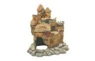 Старинен замък на скала